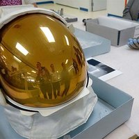 Gold-Coated Visors Protected Apollo 11 Astronauts During First Moon Walk