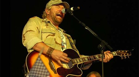 Music Friday: Toby Keith's Wife Won't Settle for Anything Less Than a 'Christmas Rock'