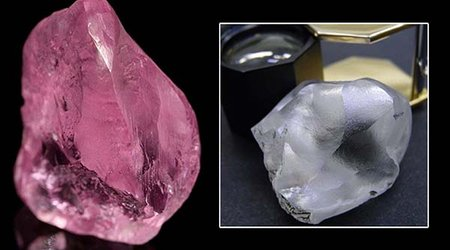 Exceptional Pink and White Diamonds Put Letšeng Mine Back in the News