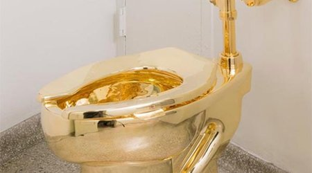 'America,' the 18-Karat Toilet Worth $6 Million, Is Stolen from British Palace