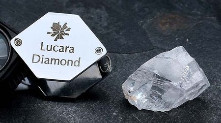Lucara Salvages 375-Carat Gem-Quality Diamond From Old Tailings