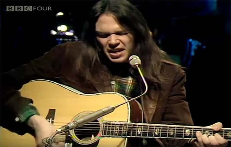 Music Friday: Neil Young Is a Miner for a 'Heart of Gold' in the 1971 Classic