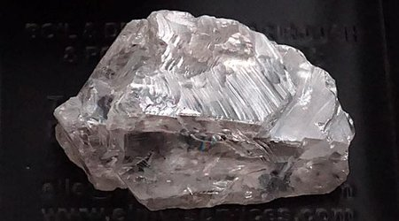 Angola's Prolific Lulo Mine Yields 171-Carat, Gem-Quality White Diamond