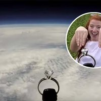 Air Force Pilot Launches Ring 17 Miles Into Space as Part of Stellar Marriage Proposal
